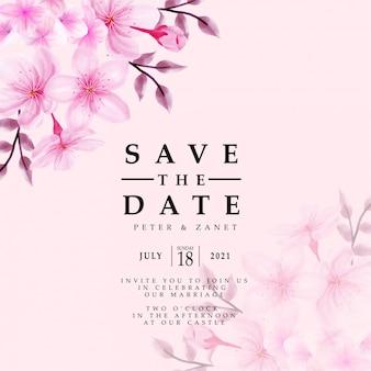 Convite elegante para eventos de casamento modelo editável