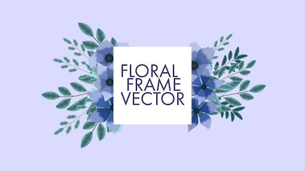 Convites de preços de venda luxuosos com quadros florais coloridos de fundo