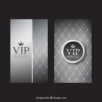 Convites vip de prata