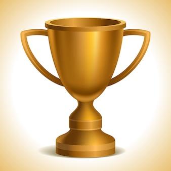 Copa ouro troféu