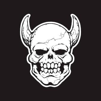 Cópia da cabeça do daemon para o t-shirt
