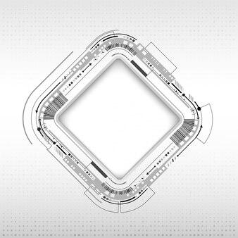 Cópia digital espaço quadro tecnologia fundo