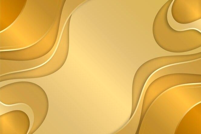 Cópia líquida espaço ouro luxo plano de fundo