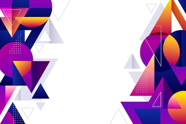 Copiar fundo gradiente geométrico moderno