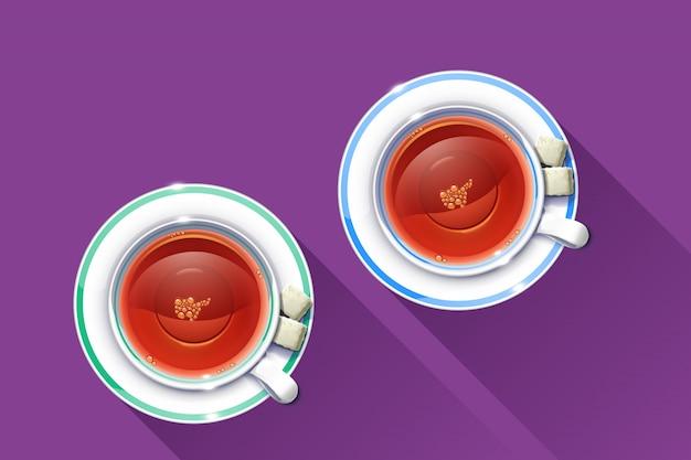 Copo de chá