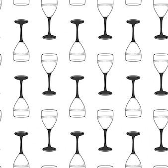 Copo de vinho.