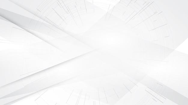 Copyspace do projeto moderno do fundo abstrato do branco cinza