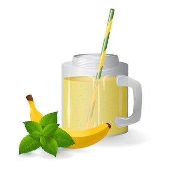 Coquetel de frutas espremido na hora. alimentação saudável.
