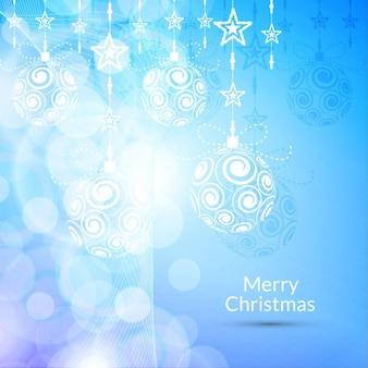 Cor azul fundo do feliz natal