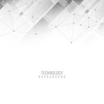 Cor cinza moderno fundo tecnológico