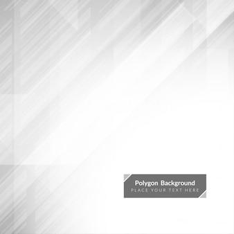 Cor cinzenta do projeto do fundo poligonal moderna