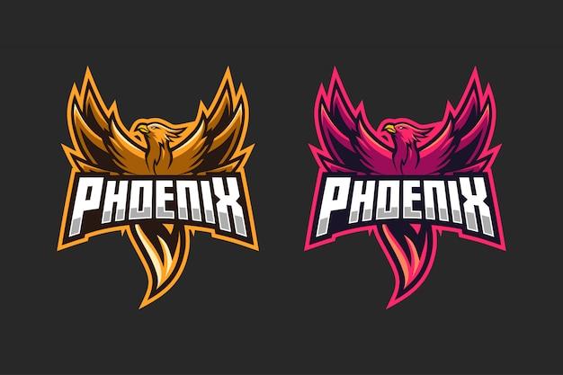 Cor da opção do logotipo esport phoenix