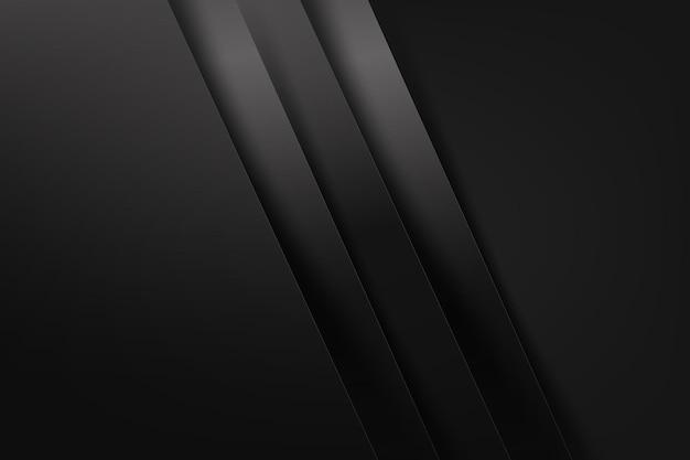 Cor de fundo abstrato escuro e preto sobreposto