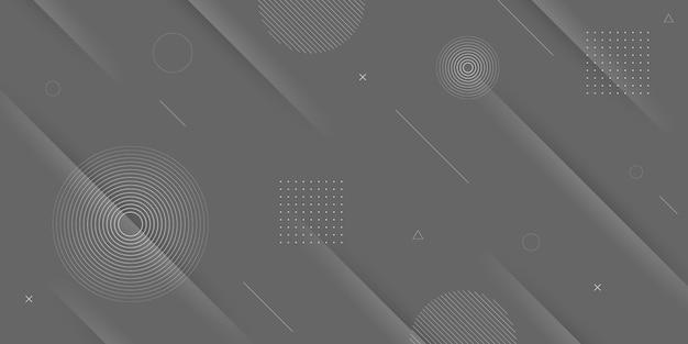 Cor de fundo abstrato moderno preto cinza com listras diagonais