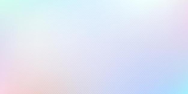 Cor de holograma moderna com design de efeito de meio-tom. abstrato luz azul pastel cor fundo desfocado.