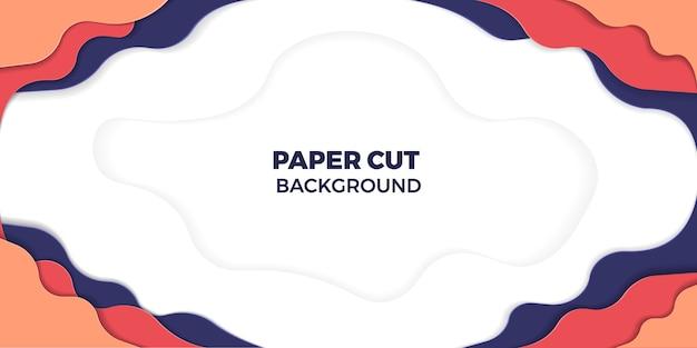 Cor de papel cortado fundo
