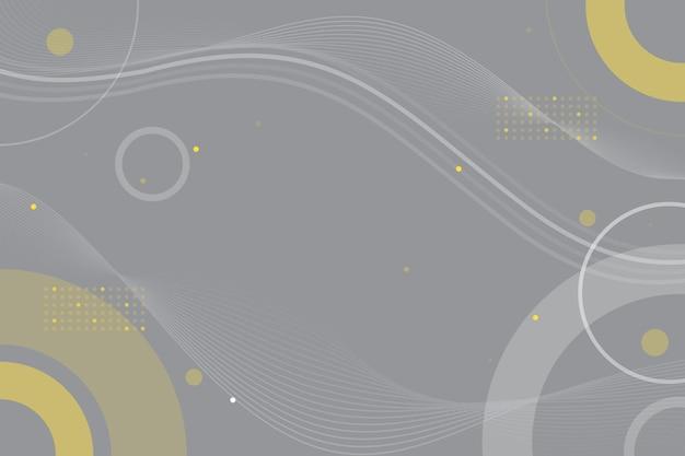 Cor do ano de 2021 fundo ondulado abstrato