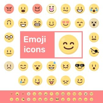 Cor emoji ícones