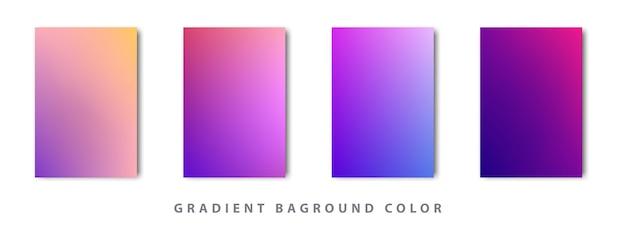 Cor gradiente baground