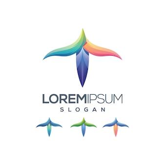 Cor gradiente logotipo brid