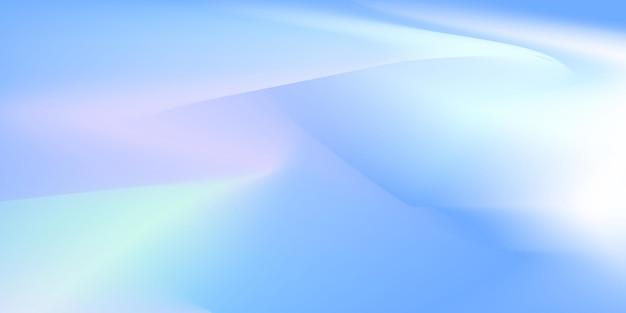 Cor gradiente pintura crepúsculos céu vetor premium