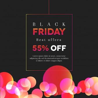 Cor preta elegante sexta-feira 55% de desconto