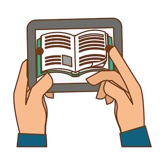 Cor smartphone ajuda para o conhecimento
