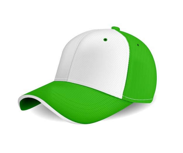 Cor verde de tampa repicada para publicidade ou impressão isolado no fundo branco