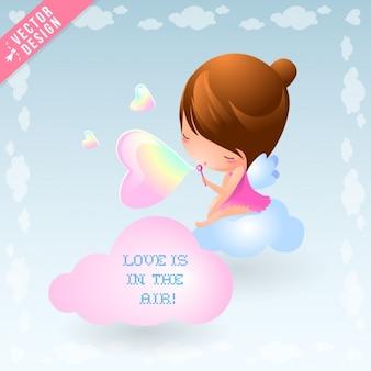 Coração bolhas