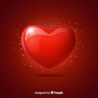 Coração cintilante