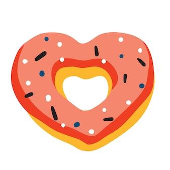 Coração de rosquinha