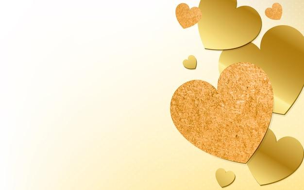 Coração, fundo, ilustração