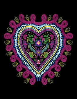 Coração huichol