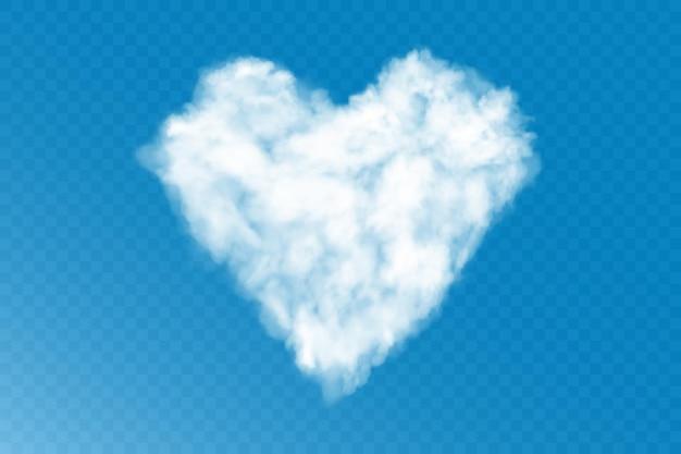 Coração nuvem