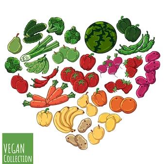 Coração vegetariano
