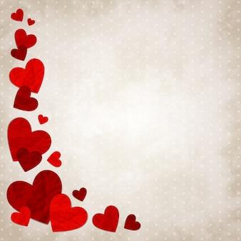 Corações de amor