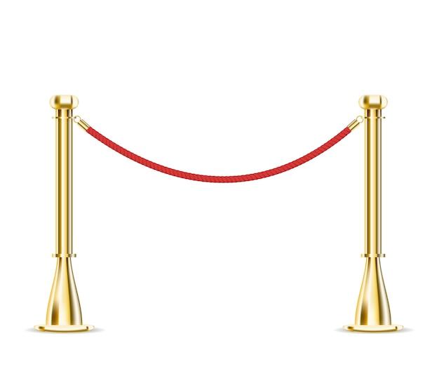 Corda barreira isolada