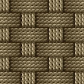 Corda de sisal de fibra de cânhamo natural