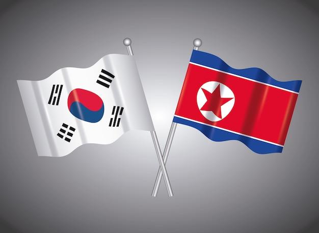 Coreia do norte e coreia do sul