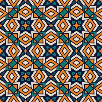 Cores de forma abstrata perfeita. fundo de ornamento de padrão simples