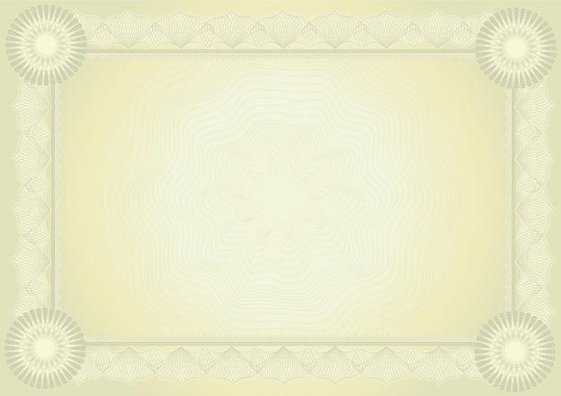 Cores douradas diploma