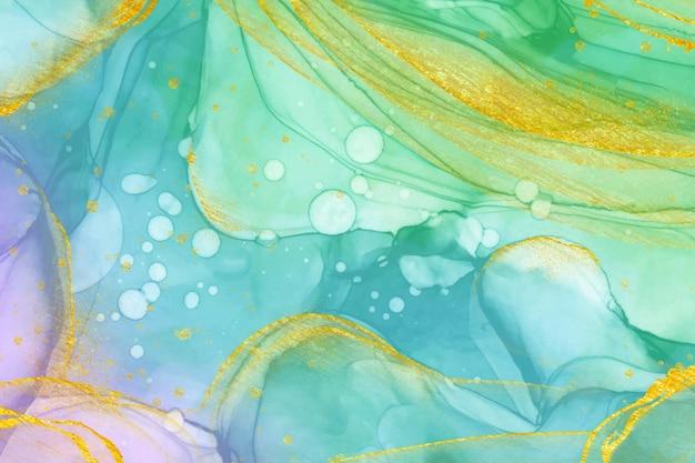Cores gradientes de fundo oleoso abstrato