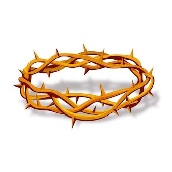 Coroa de espinhos realista