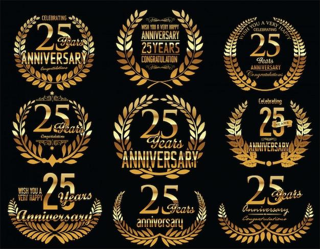 Coroa de louros de aniversário