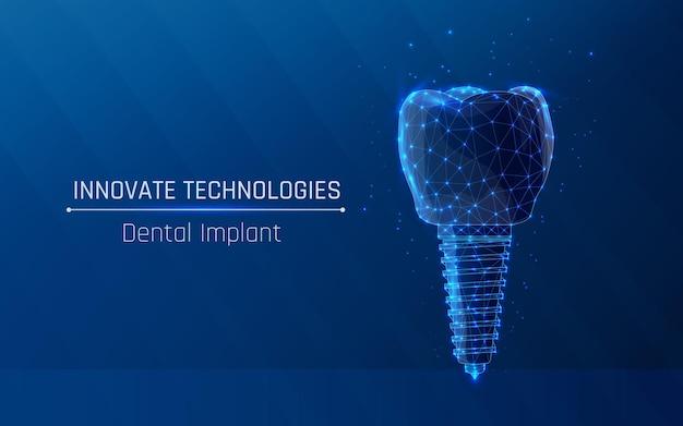 Coroa dentária e implante com rosca