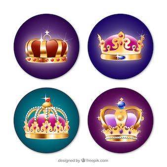 Coroas de luxo