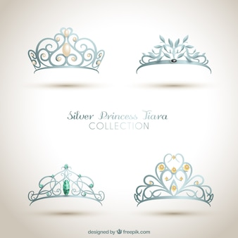 Coroas de princesa ornamentais