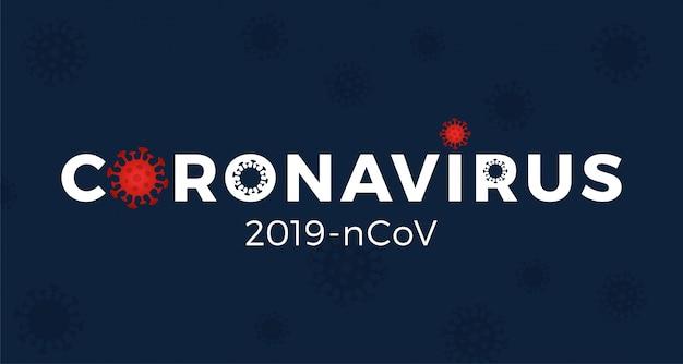Corona virus 2020 background.