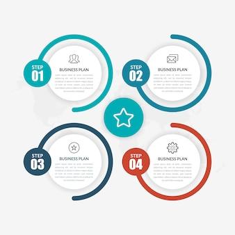 Corporate infographic premium