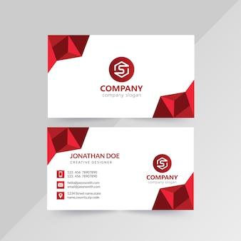 Corporativo-cartões de negócios frente e verso